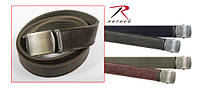 Винтажный кожаный ремень Rothco Reversible Vintage Leather/Poly Web Belt, фото 1