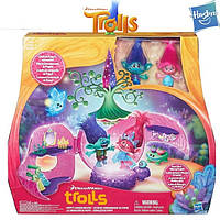 Игровой набор Trolls Коронация Розочки Hasbro