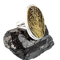Пирит, серебро 925, кольцо