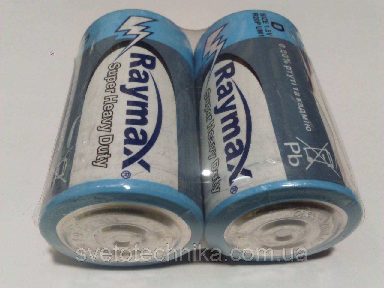 Батарейка (24шт.) Raymax D2 R20P UM1 D 1.5V