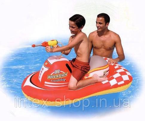 Надувной скутер Bestway 41071 с водным пистолетом, фото 2