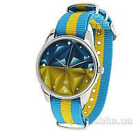Часы наручные ZIZ тканевые Флаг треугольники 1715933