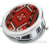 Карманное зеркало ZIZ Украинская вышиванка 27020