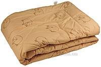 Одеяло демисезонное шерстяное Руно Барашка 140х205 см