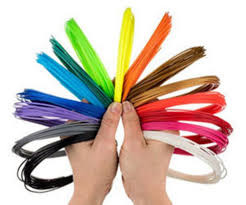 Набор ABS пластика 10 цветов по 10 м (100 м)