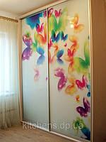 """Шкаф-купе """"Бабочки"""" в детскую комнату"""