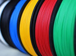 Набор PLA пластика 3 цвета по 5 м (15 м.)