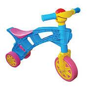 """Детский толокар """"Ролоцикл 3"""" (велобег без педалей, каталка, 61х49х26 см) ТМ Технок 1/2"""