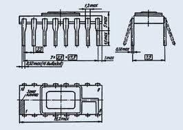193ИЕ3 (Au)(1988-89г.) маломощный делитель частоты 5-я приемка