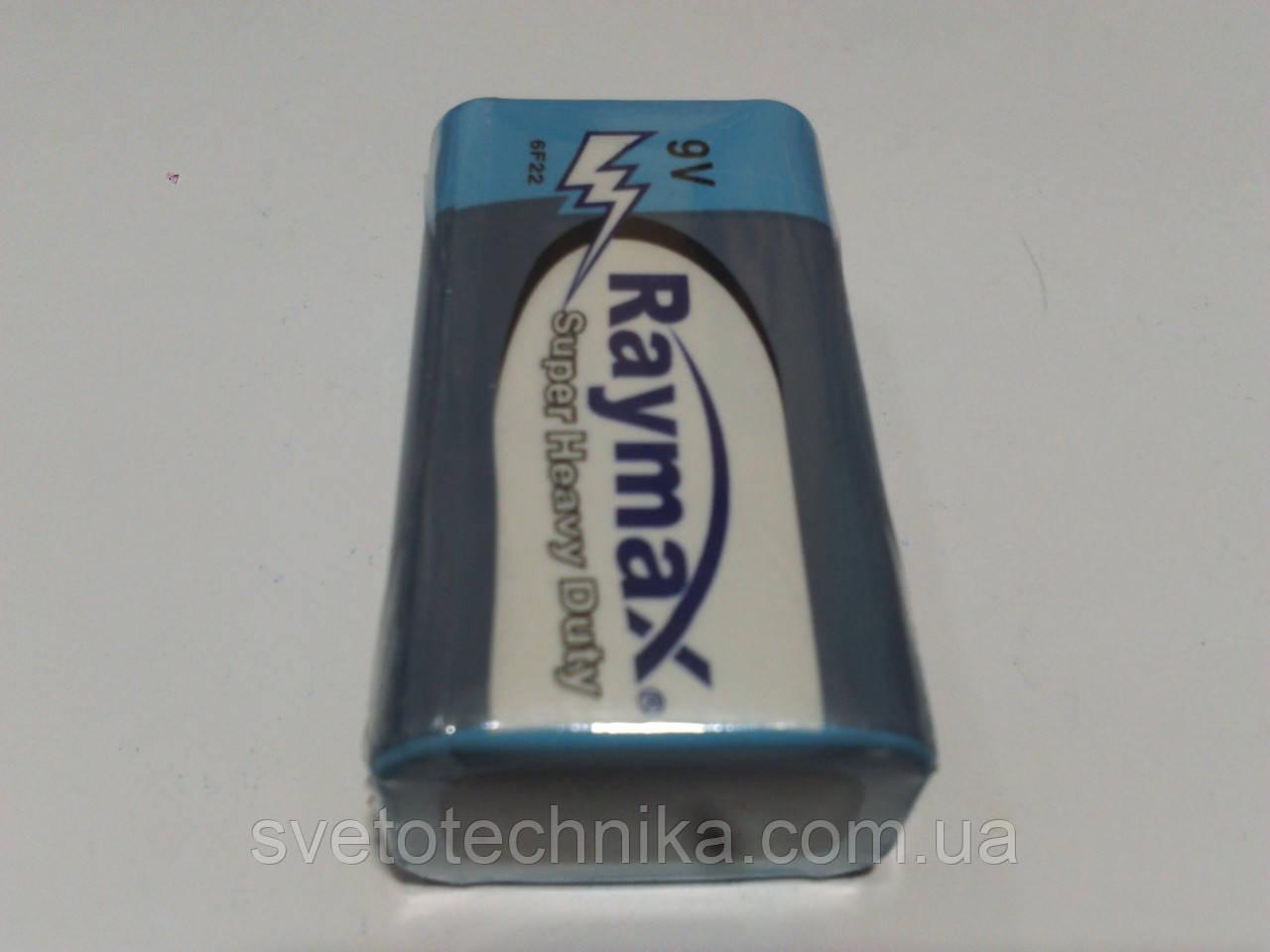 Батарейка (10 шт.)Raymax 6F22 9V