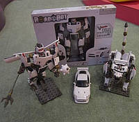 Конструктор-трансформер roadbot 54030 (8шт) 1:24, jaguar 3в1, в кор. 37*26*6 см