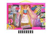 """Кукла """"принцесса"""" 905, с набором для покраски волос, в коробке: 44х33х6 см"""