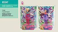 """Кукла """"фея"""" jinni"""" 83247, на батарейках с световыми эффектами, в коробке: 32х23х7 см"""