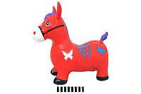 Лошадка-прыгун надувной yt550а, размер: 52х28х40 см