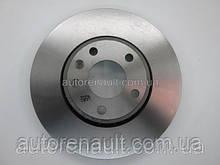 Тормозной диск передний на Рено Трафик 01> OPEL (оригинал) 93161253