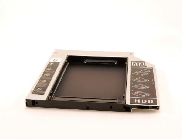 Адаптер подключения HDD 2.5 в отсек привода ноутбука IDE-SATA 9.5 мм