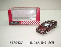 "Машина метал. ""kinsmart"" kt5043w mercedes-benz cl500 (96шт/4) в кор.16*8,5*7,5cm"