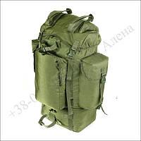 Туристический рюкзак 75 литров олива для туризма, армии, рыбалки кордура