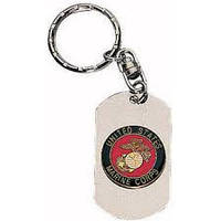 Жетон-брелок для ключей Rothco Marines Dog Tag, фото 1