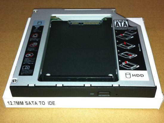 Адаптер для підключення HDD 2.5 у відсік приводу ноутбука IDE-SATA 12.7 мм