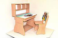 """Подростковый комплект мебели """"The Sims 4"""": парта  и стул из ЛДСП"""