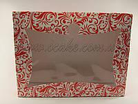 Коробка для капкейков (6 шт) с узором