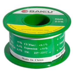 Припой BAKU BK-10004 d=0,4 мм (100 г.)