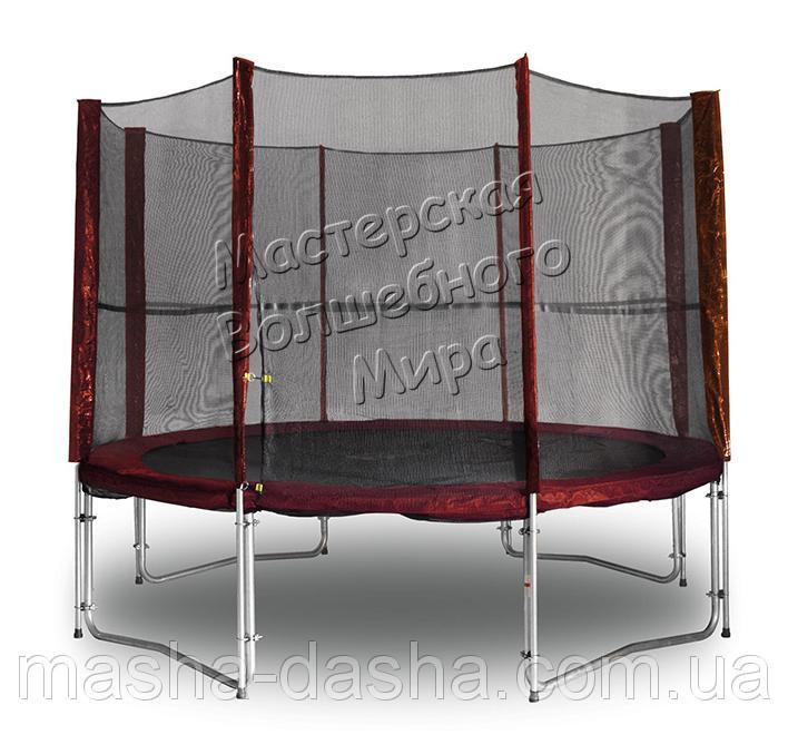 Защитная сетка для батута MAROON 304 см с ножками для крепления
