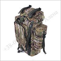 Туристический рюкзак 75 литров мультикам для туризма, армии, рыбалки кордура