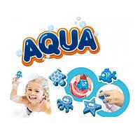 Набор для игры в ванной   Гуашь со штампами 4х120 мл