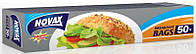 Novax Пакетики для бутербродов 50шт