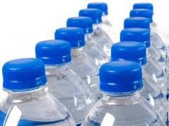 Вода дистиллированная литр, налив