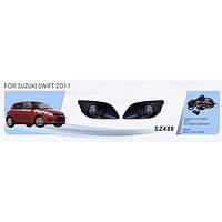 Фары доп.модель Suzuki  Swift 2011-/SZ-486W/эл.проводка