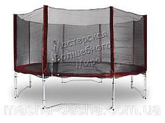 Защитная сетка для батута MAROON 426 см с ножками для крепления