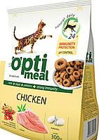 Optimeal Сухой корм для котов Курица 300г