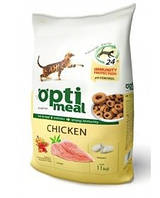 Optimeal Сухой корм для котов Курица 11кг