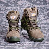 Ботинки нубук олива, ткань A-TAKS FG Собственное производство (1)