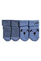 Махровые носочки для новорожденного (2 пары)