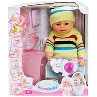 Пупс кукла Warm Baby Бейби Борн 8006 Т Маленькая Ляля новорожденный с аксессуарами