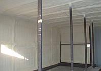 Утепление,теплоизоляция, термоизоляция напыляемым пенополиуретаном сушильных камер, погребов