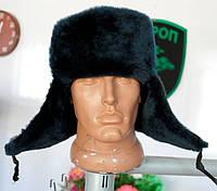 Зимняя шапка форменная искусственный мех
