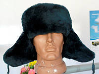 Зимняя шапка форменная натуральный мех
