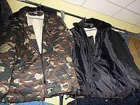 Куртка армейская камуфляж (набивная овчина)