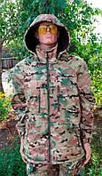 Куртка Дюспо с флисом мультикам Собственное производство