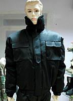 Куртка зимняя для охраны черная Собственное производство