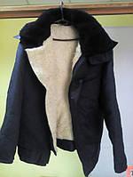 Куртка лётчика на цигейке