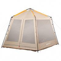 Тент-палатка туристическая восьмиместная КЕМПИНГ Sunroom (420x360x225см)