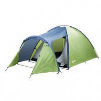 Палатка туристическая трехместная КЕМПИНГ Solid 3 (345х195х140см)