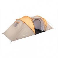 Палатка туристическая шестиместная КЕМПИНГ Narrow 6PE (510х220х150см)