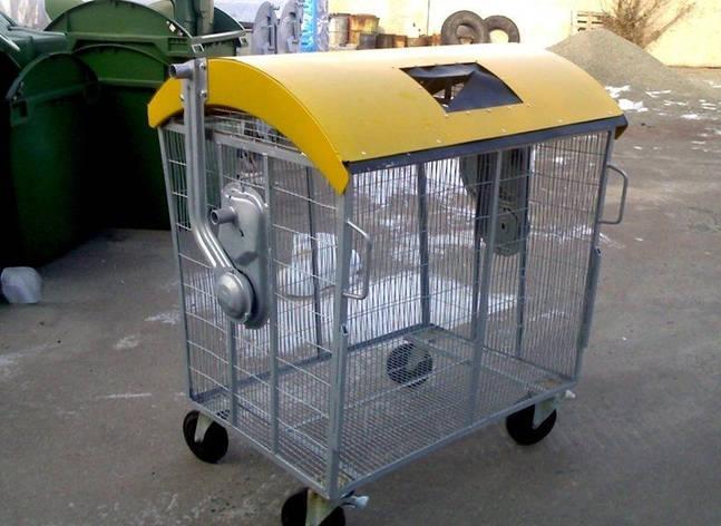 Мусорный контейнер для пластика, фото 2